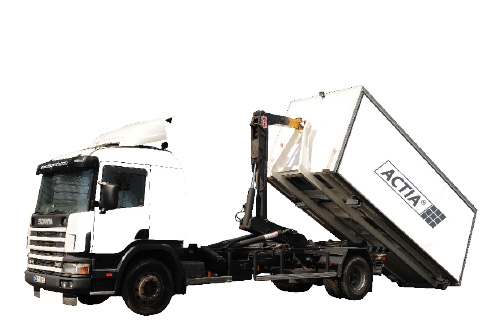 Mobile vehicle inspection station, ampli-roll station, ACTIA® Automotive.