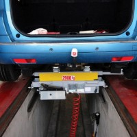 Jacking Beams for light vehicle (LV) inspection pit